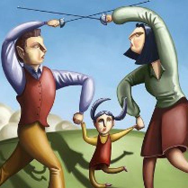 Divorce law, Rule 43 application